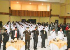 Bupati Soppeng Ikuti Upacara Penurunan Bendera Proklamasi Kemerdekaan di Lapangan Istana Presiden